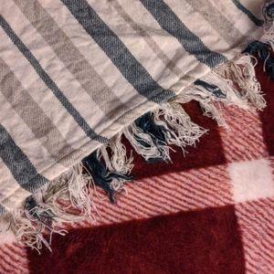 Tularosa Dresses - Tularosa Striped Mini Wrap Dress